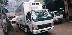 Xe tải đông lạnh 4 tấn, xe tải fuso thùng đông lạnh tải trọng.