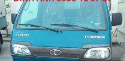Thông tin Xe tải Thaco Towner 750kg, xe tải 880kg, xe tải dưới 1 tấn.