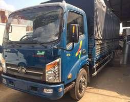 Xe tải veam vt260 1,9 tấn cabin vuông thùng dài 6m1 chạy trong thành p.