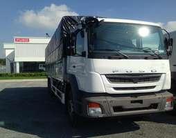 Bán xe tải Fuso 3 chân 15 tấn thùng dài, khuyến mãi hấp dẫn.