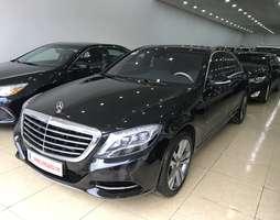 Bán Mercedes Benz S500 2014 màu đen,nội thất kem,xe đẹp ,biển đẹp.