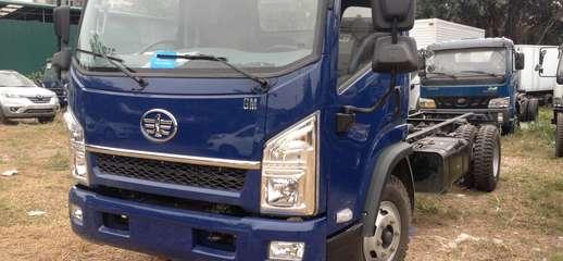 Bán xe tải GM FAW 6,95 tấn,thùng gọn,cabin kiểu ISUZU,máy khỏe, Ảnh số 1
