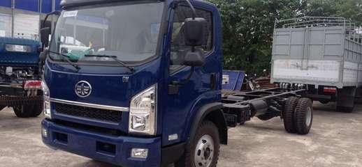 Xe tải Faw 7,25 tấn,thùng dài 6,3M,cabin Isuzu hiện đại,máy khỏe, Ảnh số 1
