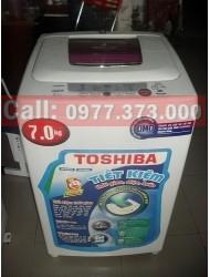 Ảnh số 2: Máy giặt Toshiba 7.0kg cửa trên, chưa sửa chữa. - Giá: 2.200.000