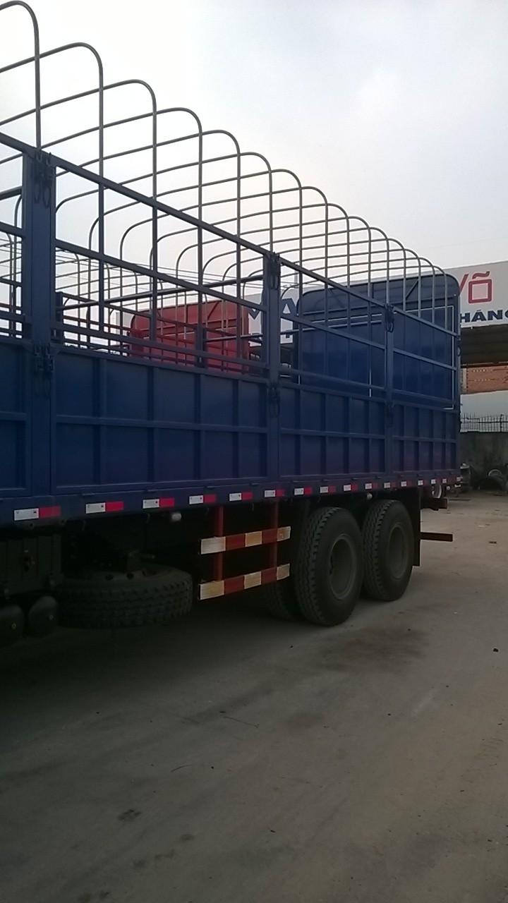 SX 2015 tải thùng 4 chân xe ben 4 chân đầu kéo SHACMAN mooc nhập giá tốt Ảnh số 36079683