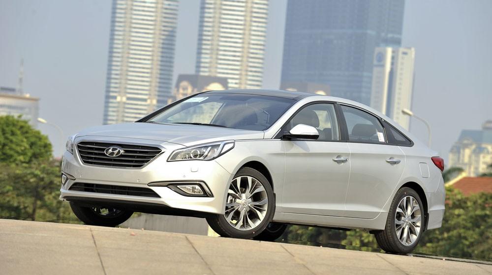 Hyundai Sonata 2015 nhập, full Option Đẳng cấp hàng đầu. Giao xe ngay, giá tốt nhất tại Hyundai Giải Phóng Ảnh số 36167094