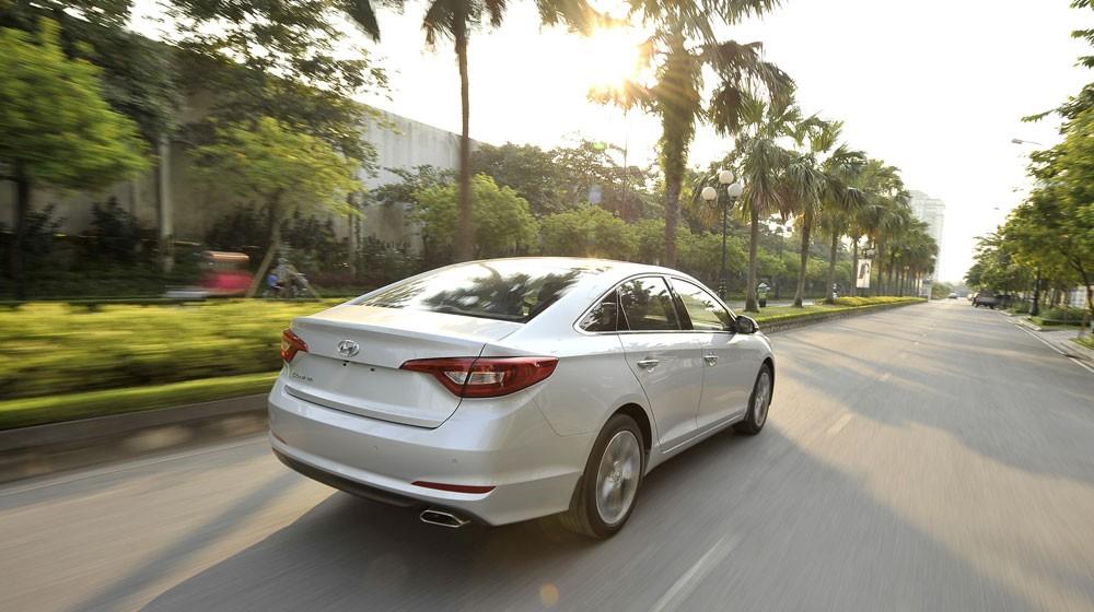 Hyundai Sonata 2015 nhập, full Option Đẳng cấp hàng đầu. Giao xe ngay, giá tốt nhất tại Hyundai Giải Phóng Ảnh số 36167095