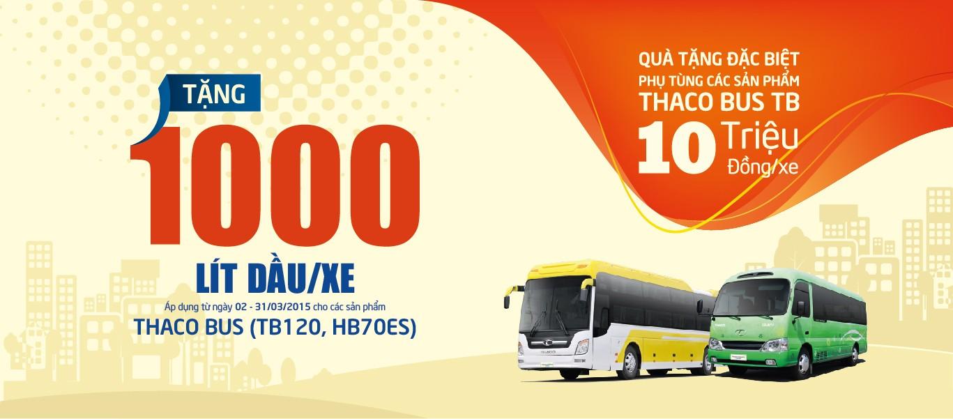 Ưu đãi đặc biệt cho khách hàng mua xe Thaco Bus trong tháng 3/2015 Ảnh số 36710405