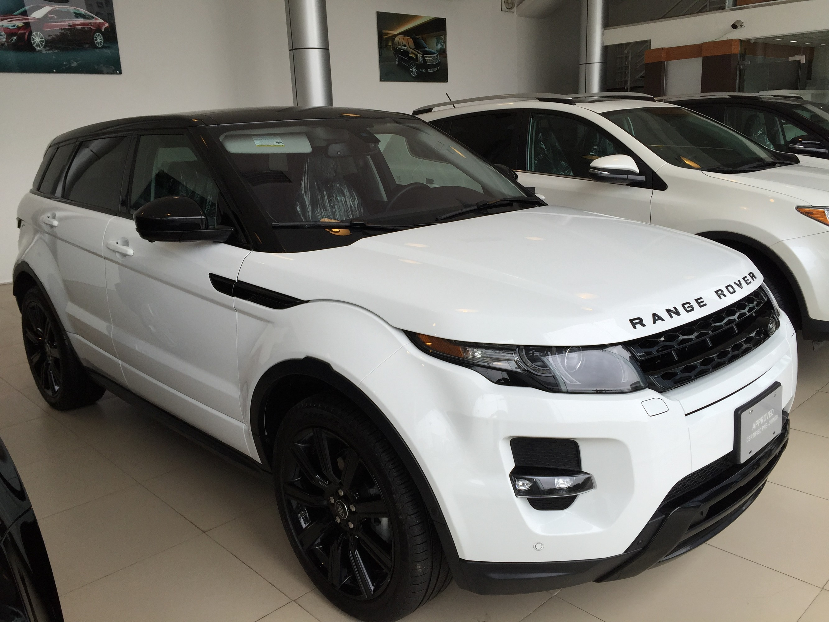 b n range rover evoque 2 0 black edition model 2015 full option c phanh kho ng c ch gi range. Black Bedroom Furniture Sets. Home Design Ideas