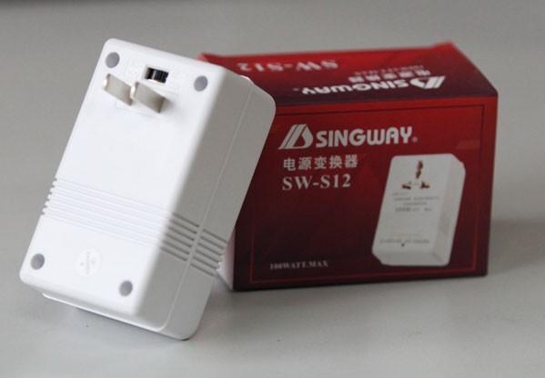 Ảnh số 4: Bộ chuyển điện từ 110v sang 220 v và ngược lại, Singway 100W giá rẻ nhất tại Cty Hoàng Ngọc. - Giá: 190.000
