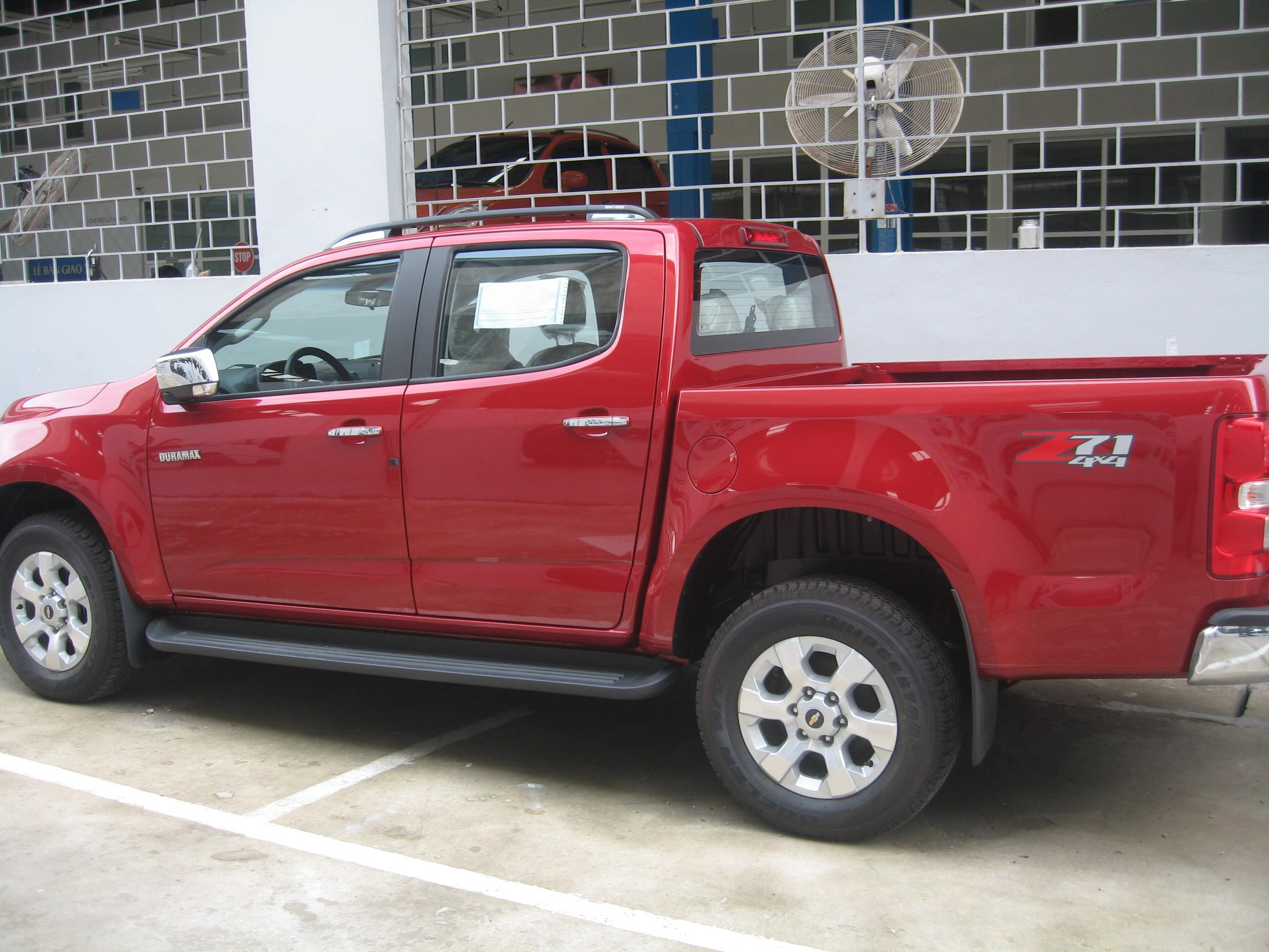 Hãy chọn đại lý Chevrolet Hà Nội để mua Colorado 2.8 ltz.Quý khách sẽ hài lòng về giá và dịch vụ sau bán hàng. Ảnh số 37867281
