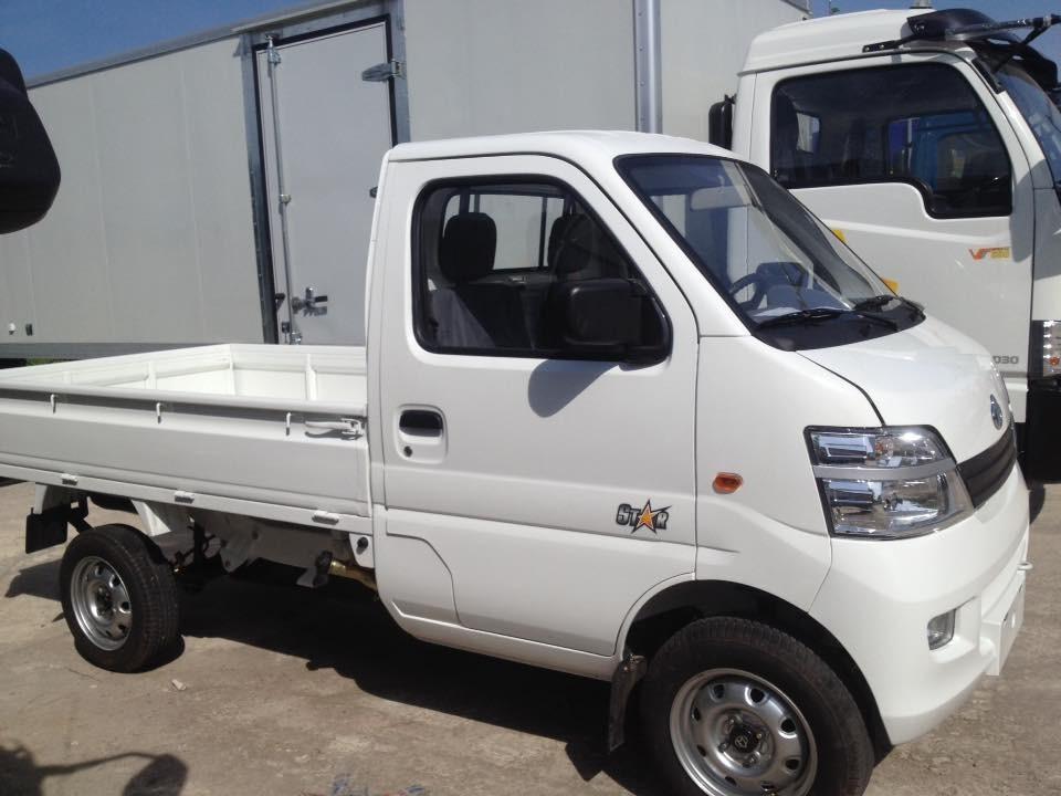 Giá xe tải veam nhỏ dưới 1 tấn - xe tải veam star 750kg thùng lửng, veam thùng bạt, veam 750kg thùng