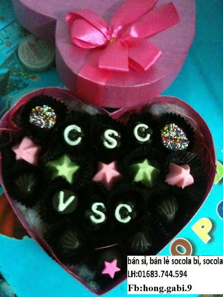 Bán buôn, bán lẻ socola valentine 2016, socola handmade mẫu mã đa dạng, chiết khấu cao Ảnh số 38308487