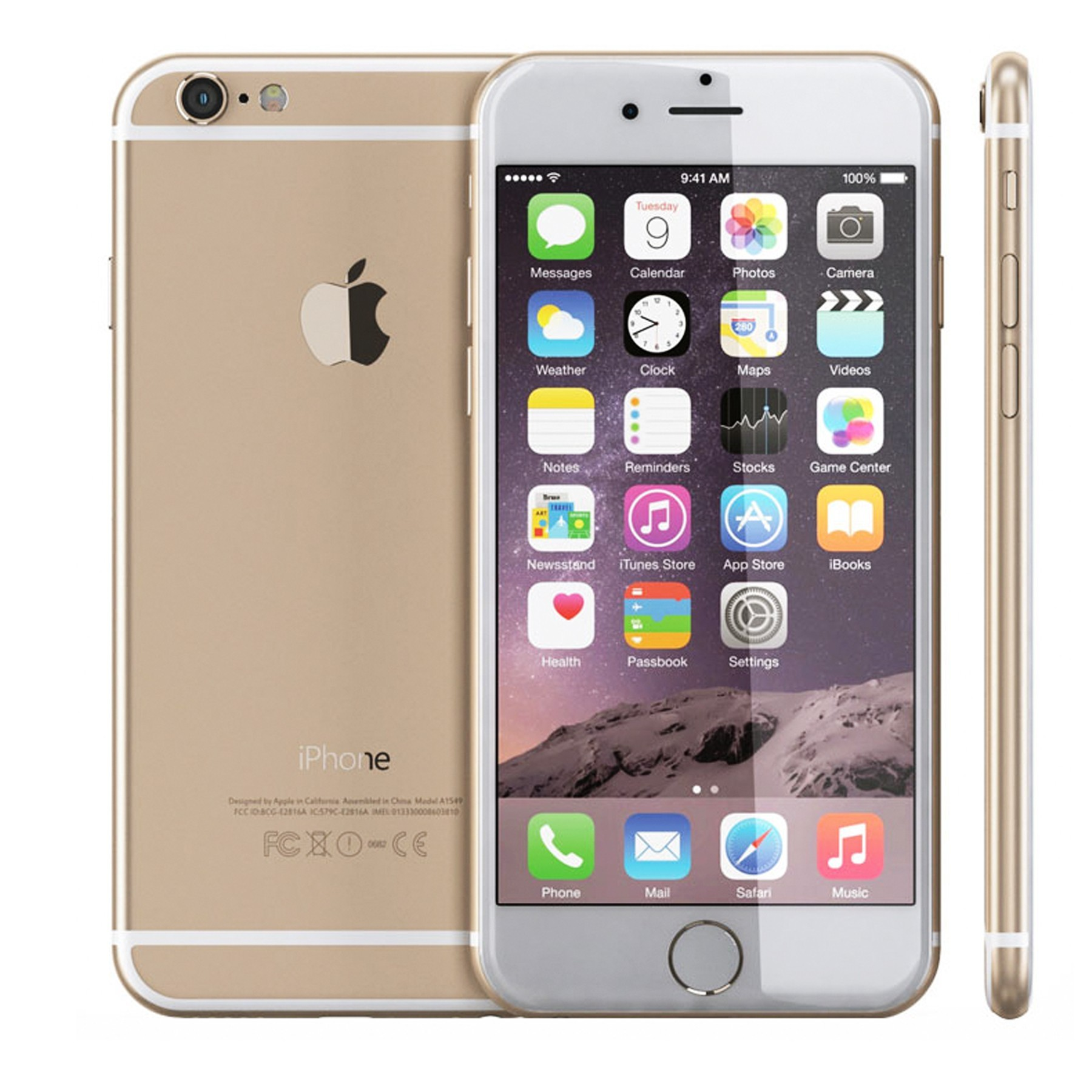 iPhone 6 Plus 128G Gold Ảnh số 38367776