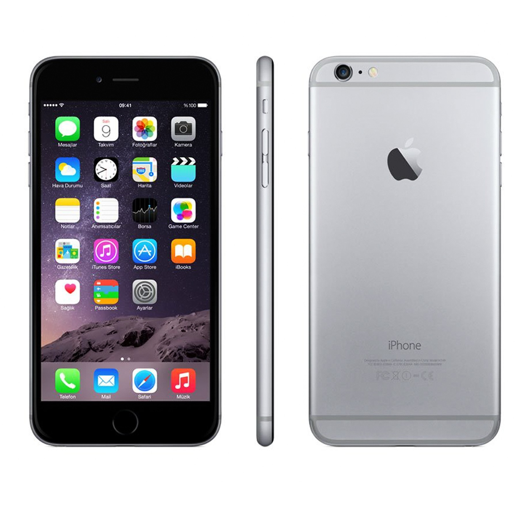 iPhone 6 Plus 64G Space Gray Ảnh số 38368052