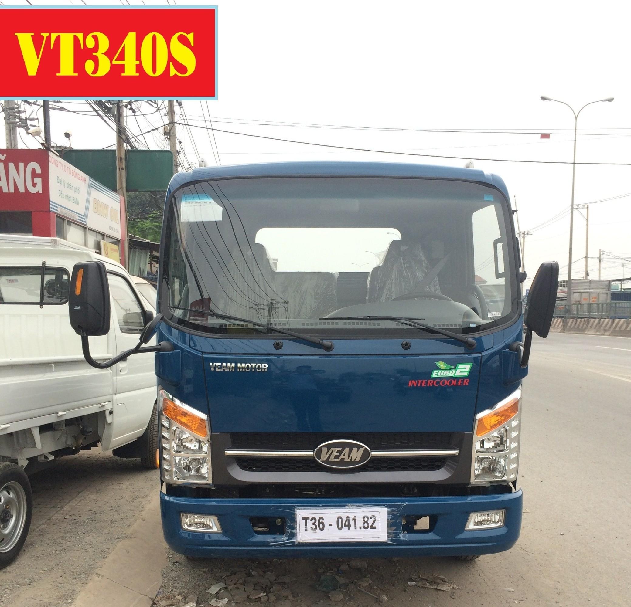 Đại lý bán xe tải veam 3,5 tấn - veam huyndai VT340s thùng 6m - Cửa hàng bán xe tải veam 3,5 tấn