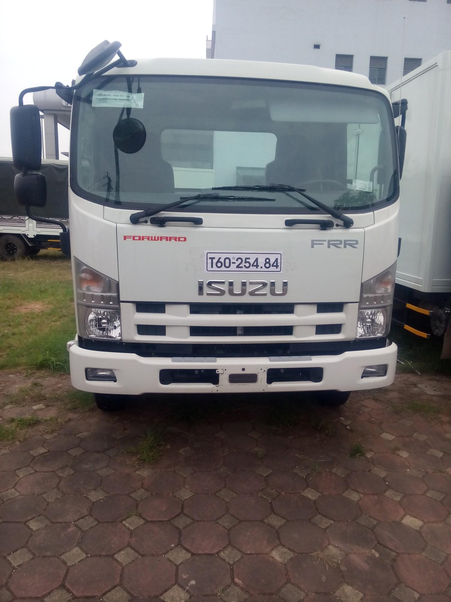 Giao liền xe khi mua xe tải isuzu 6,2 tấn chassi - Có sẵn xe tải isuzu 6,2 tấn chassi