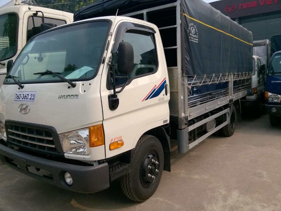 Xe tải Hyundai HD98/ HD99 thùng mui bạt, nâng tải 6,5 tấn , giá thương lượng Ảnh số 38713033