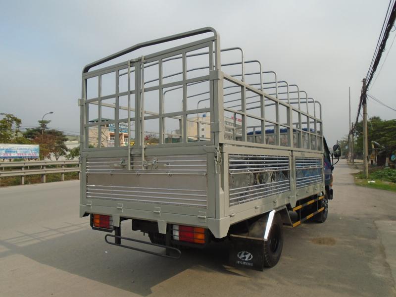 Xe tải Huyndai HD99 thùng lửng, thùng bạt, thùng kín,nâng tải lên 7 tấn, màu xanh, 2016 Ảnh số 38713038