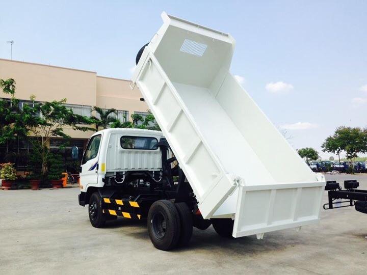 Xe tải ben tự đổ Hyundai Hàn Quốc HD99 tải trọng 5,5tấn. Ảnh số 38957552