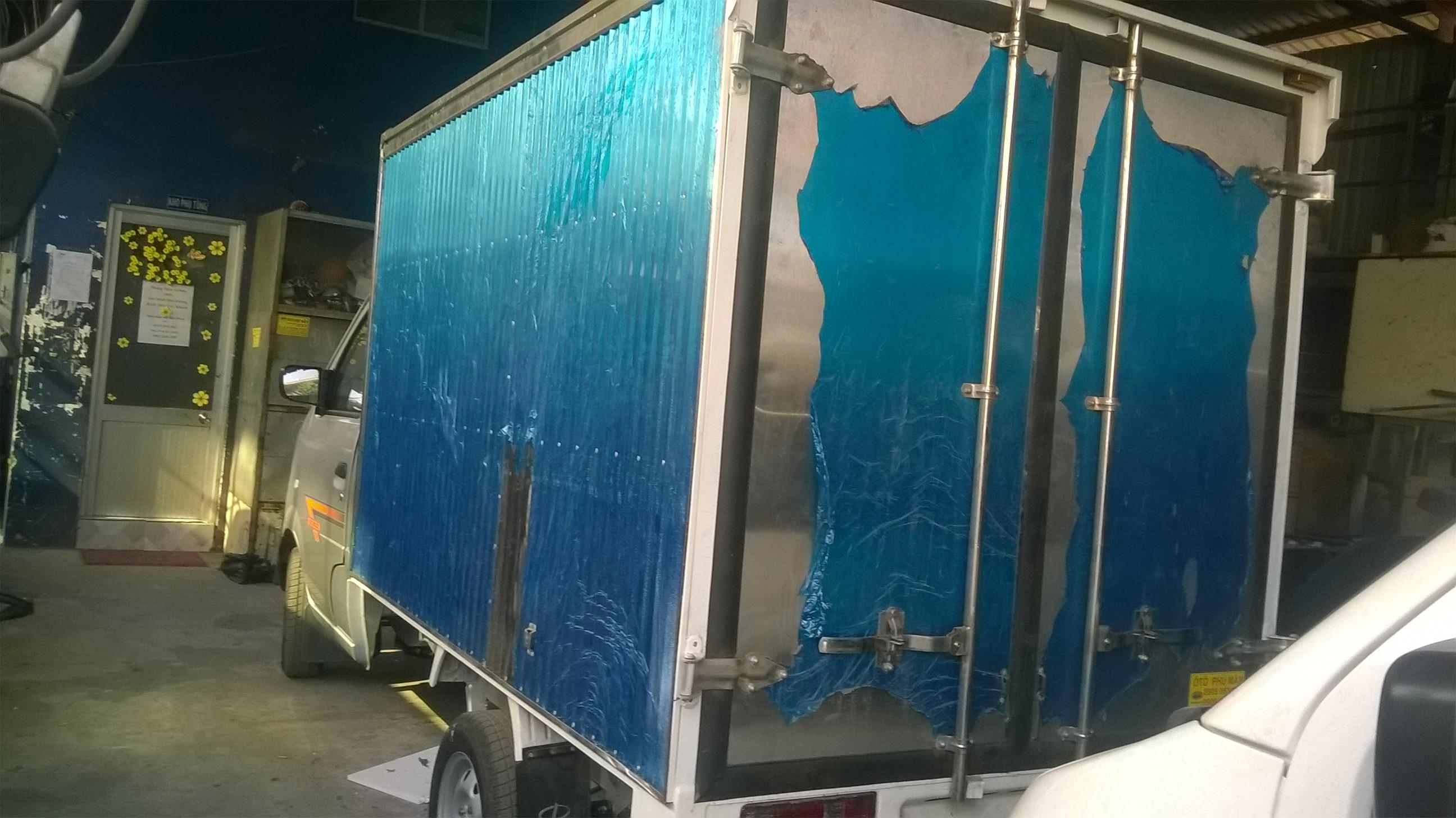 Bán xe tải dongben 800 kg thùng bạt, thùng kín trả góp/ Giá xe tải dưới 1 tấn Ảnh số 39013181