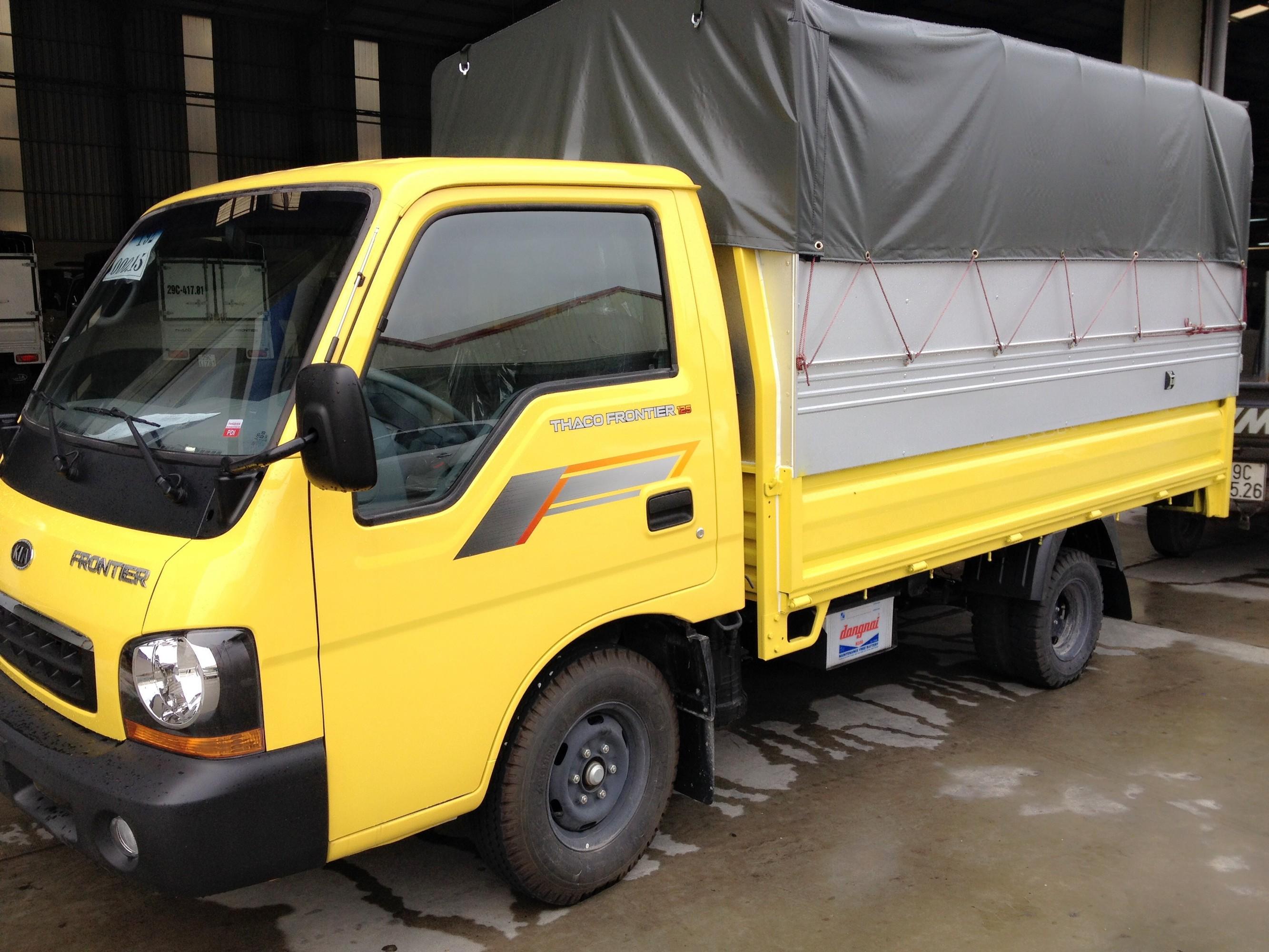 Xe tải K165 Tải trọng 2,4 tấn thùng mui bạt màu sắc đa dạng Ảnh số 39073710
