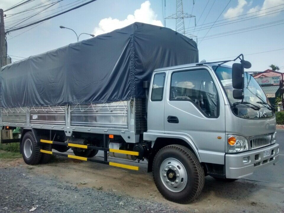 Bán xe tải Jac 6.4 tấn/ 6T4 giá rẻ nhất Miền Nam. Giá bán xe tải Jac 6 tấn 4