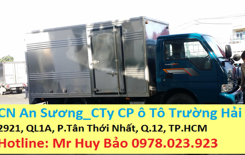 Xe tải kia k165 đời 2017 xe thùng kín k165, xe tải thùng mui bạt k165 Ảnh số 39302692