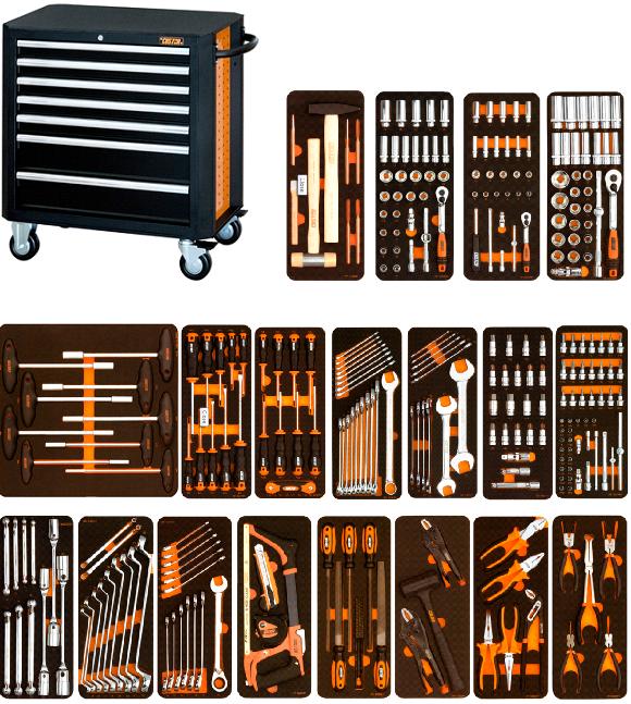 Tủ dụng cụ 7 ngăn và 292 chi tiết Ảnh số 39365153
