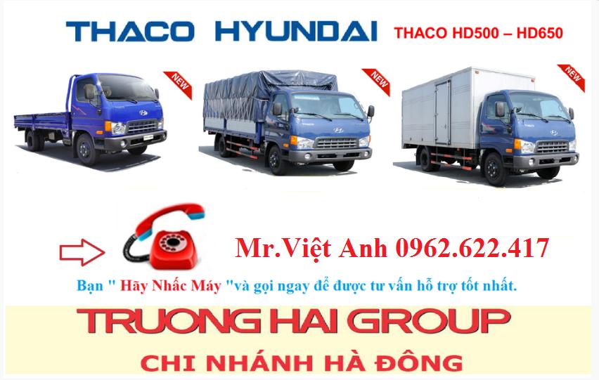 Giá mua bán xe tải Thaco Hyundai HD500 5 tấn, HD650 7 tấn chính hãng 2017 Ảnh số 39513361