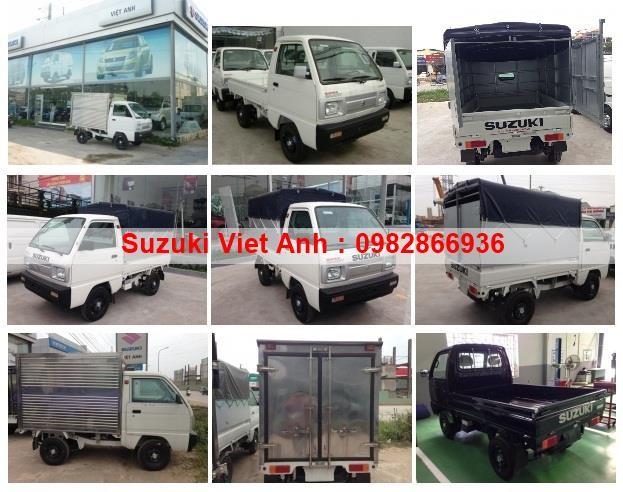 Đại lí suzuki Việt Anh bán xe tải 5 tạ carry truck đời 2016 xe thung bạt , xe thùng bạt xe thung kin LH: 0982866936 Ảnh số 39842497