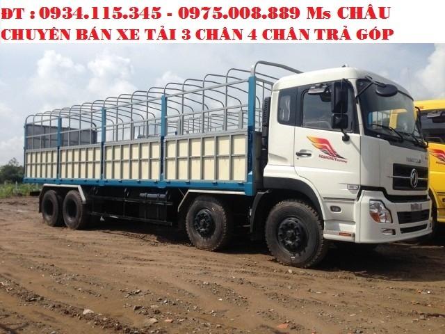 Bán trả góp xe tải DongFeng L315( 2 cầu 2 dí) 17.9 Tấn 17T9 17 Tấn 9 Hoàng Huy máy Cumin nhập khẩu.