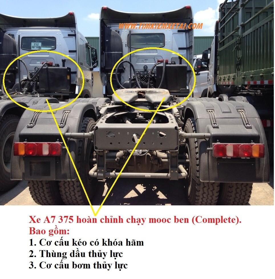 Sơmi rơmóc ben howo 31 tấn Ảnh số 40033785