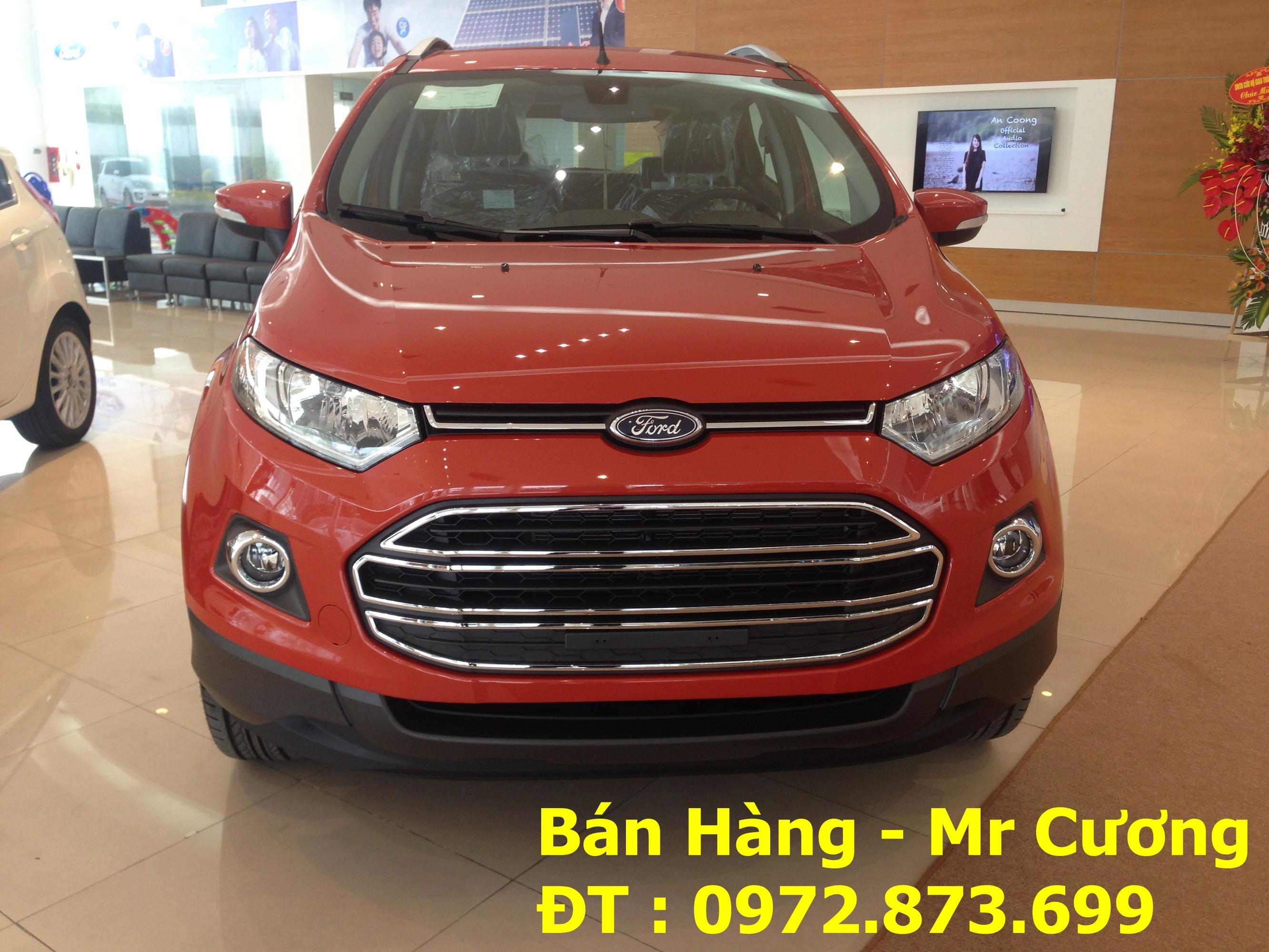 Ford ecosport Titanium 1.5 AT màu cam giao xe nhanh nhất Ảnh số 40388475