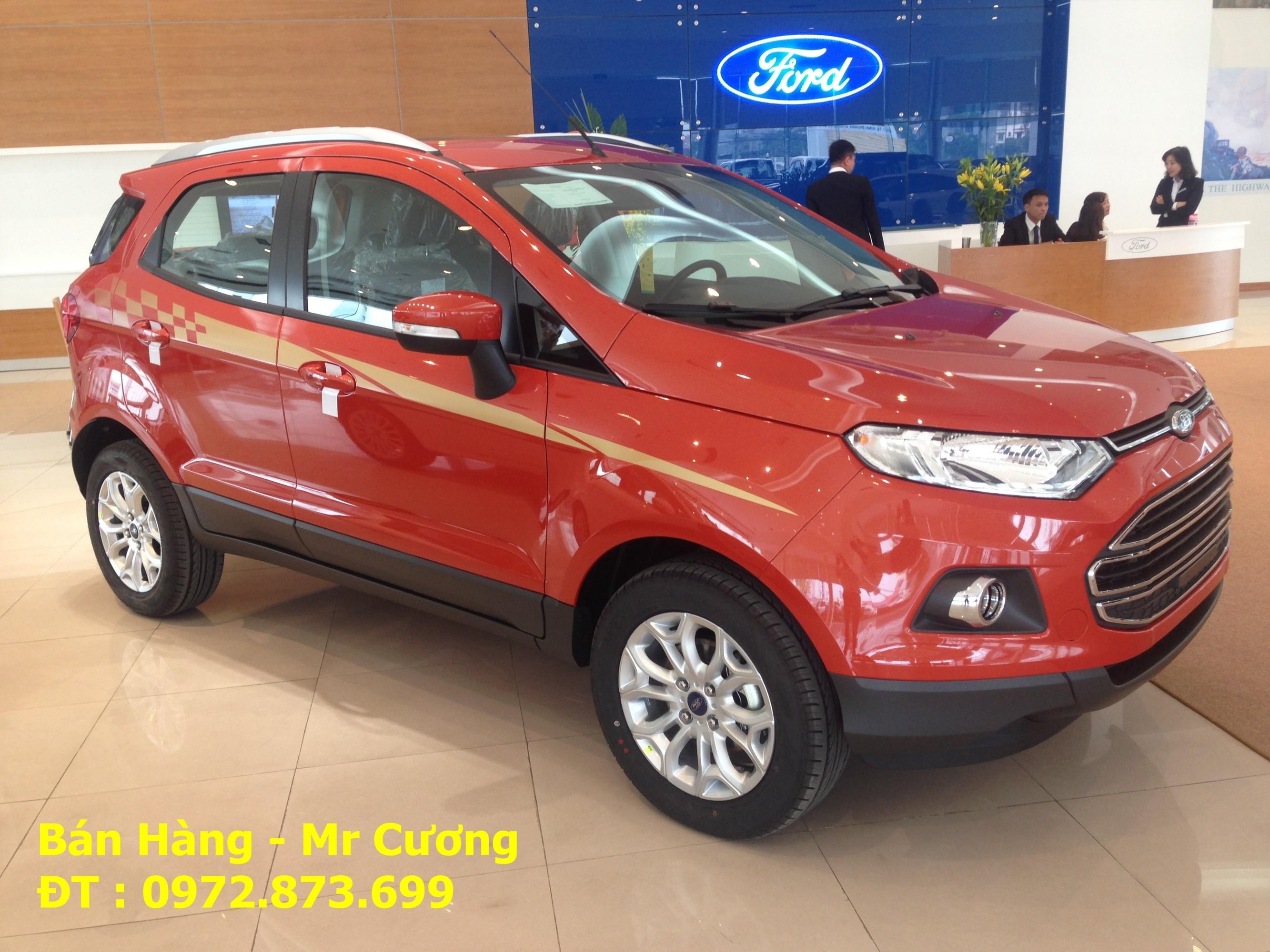 Ford ecosport Titanium 1.5 AT màu cam giao xe nhanh nhất Ảnh số 40388479