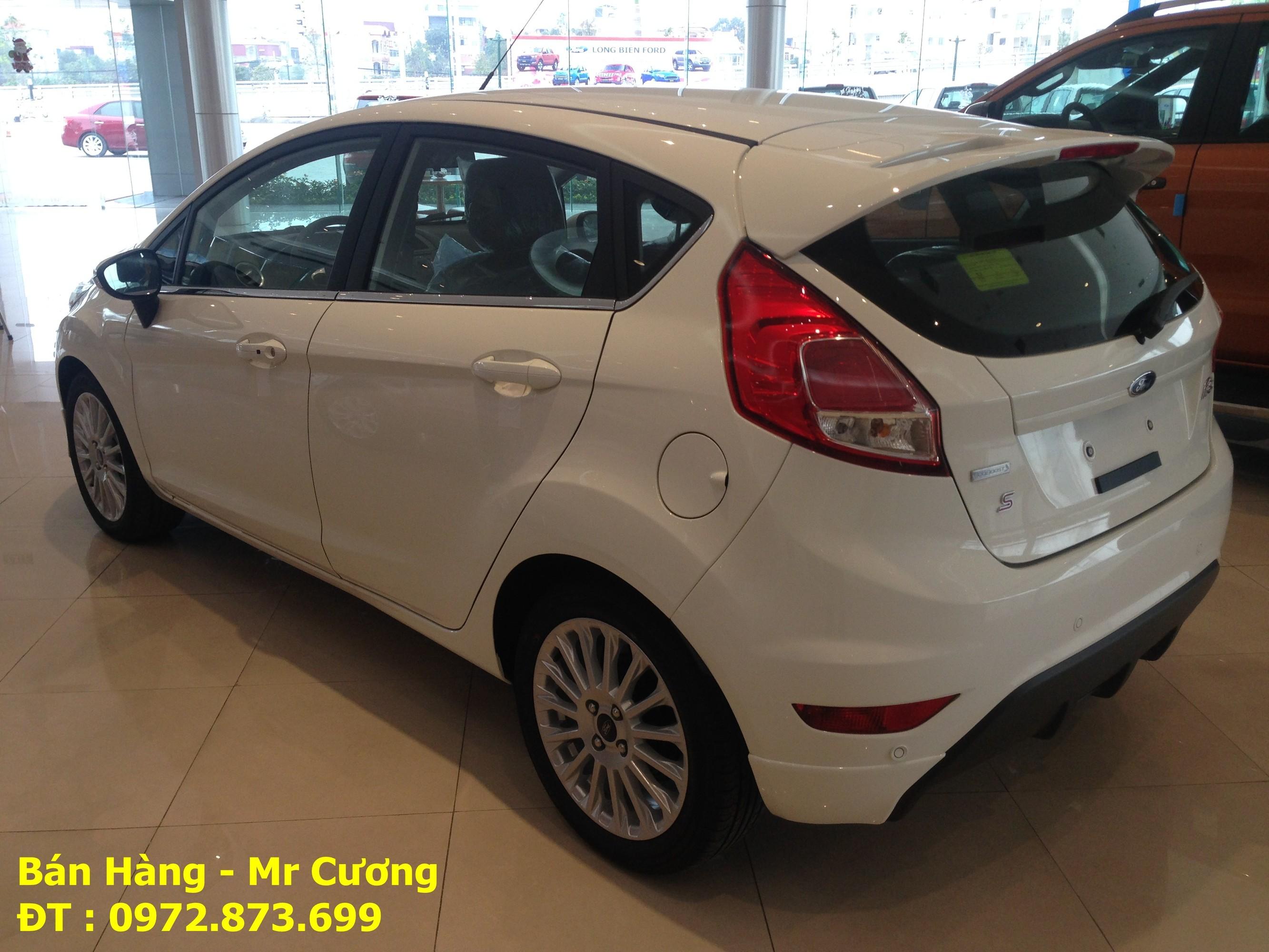 Ford fiesta 1.0 ecoboost màu trắng giá tốt giao xe ngay Ảnh số 40388703
