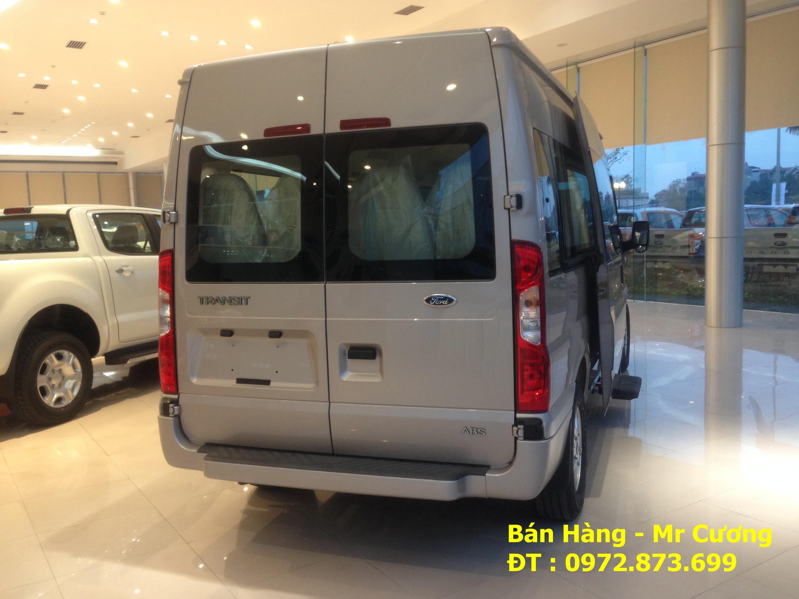 Bán xe khách ford transit 16 chỗ luxury màu bạc giao xe ngay Ảnh số 40388827