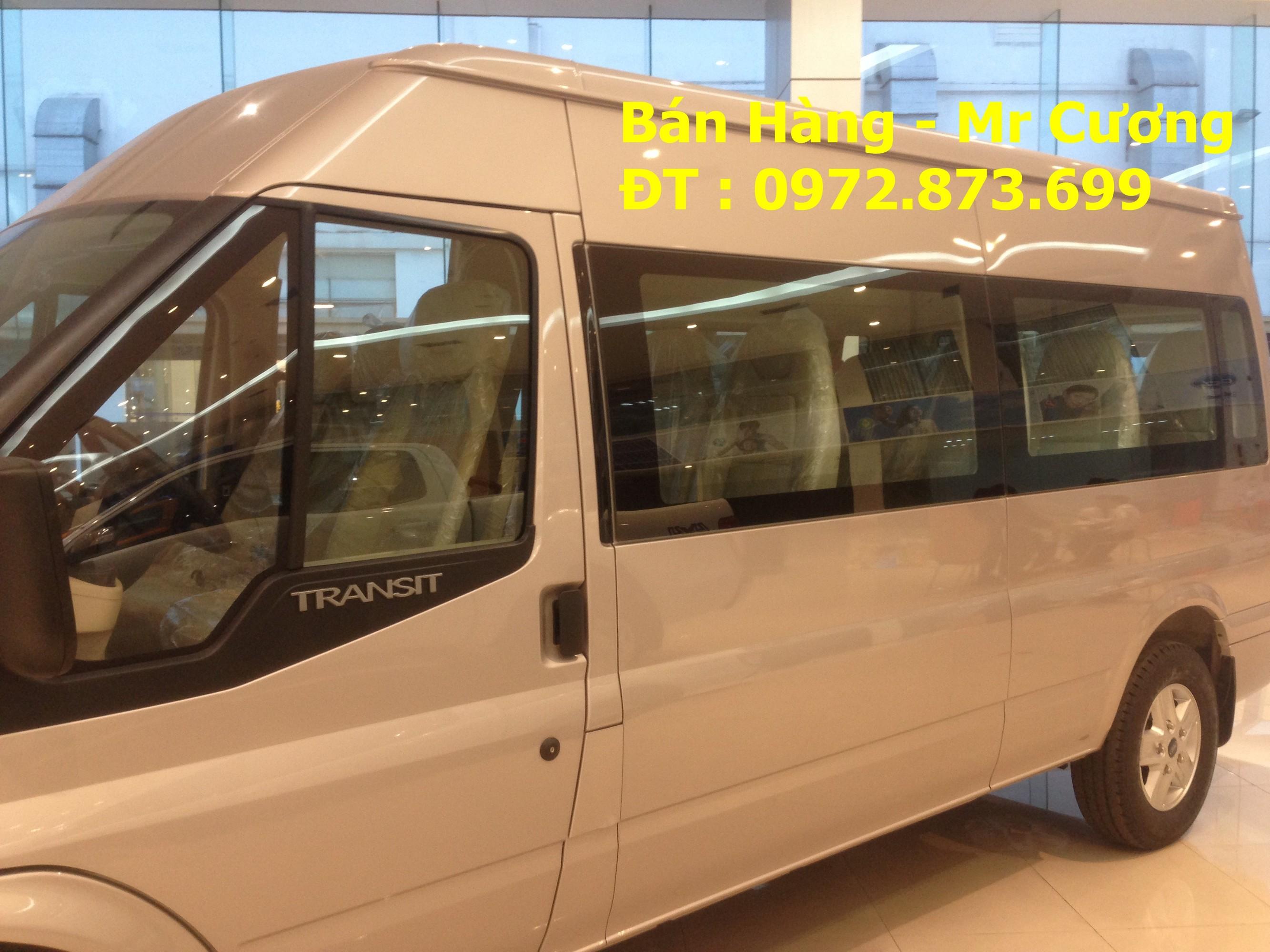 Bán xe khách ford transit 16 chỗ luxury màu bạc giao xe ngay Ảnh số 40388833