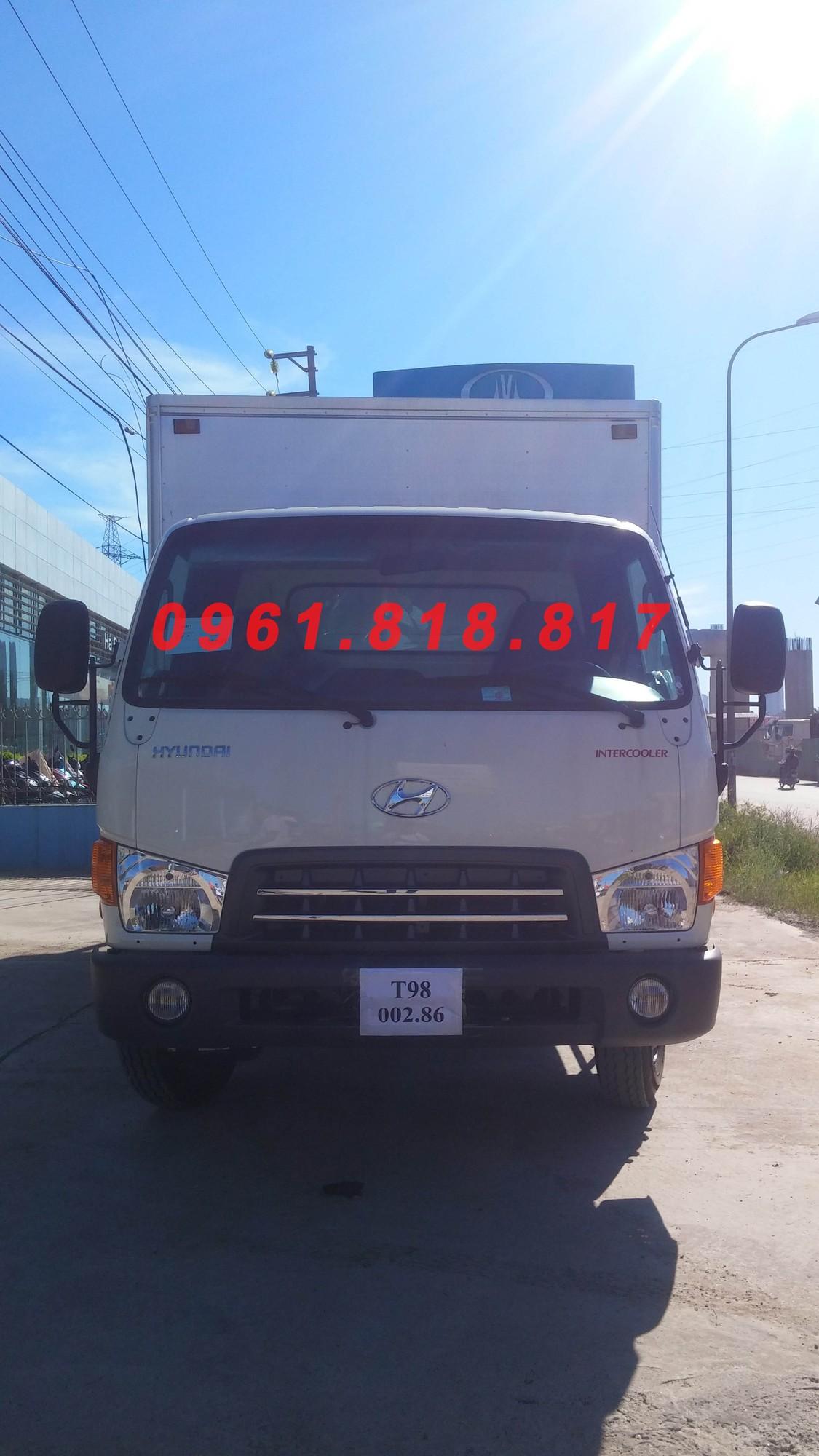 Xe tải nâng tải 7 tấn HD700 Đông vàng, lắp ráp 3 cục CKD, thùng kín có xe giao ngay Ảnh số 40558255