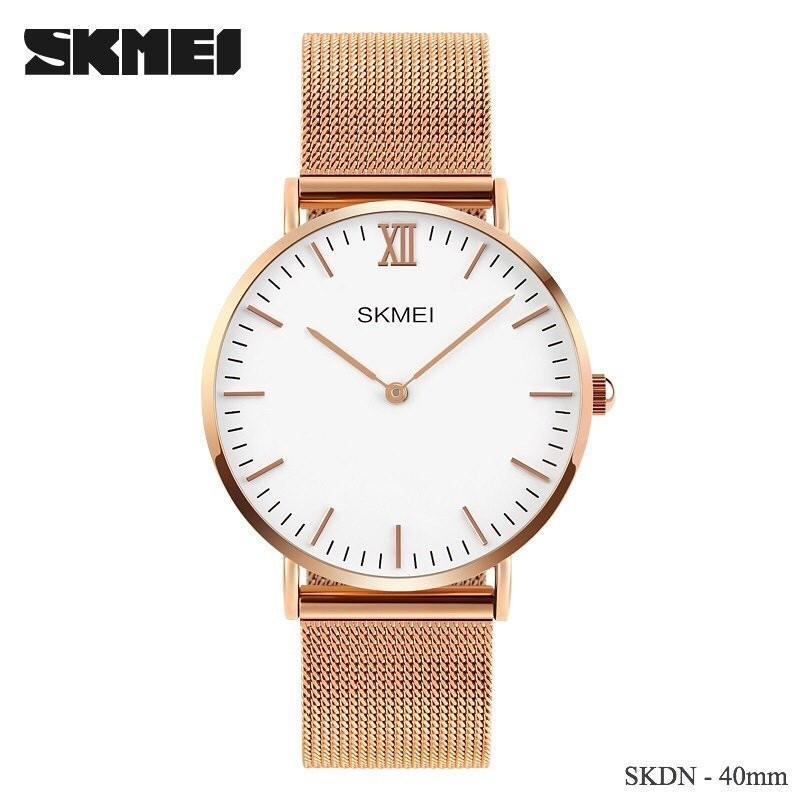 Đồng hồ Skmei ZL3001 dây nhuyễn ôm sát tay, mặt siêu mỏng Ảnh số 40653263