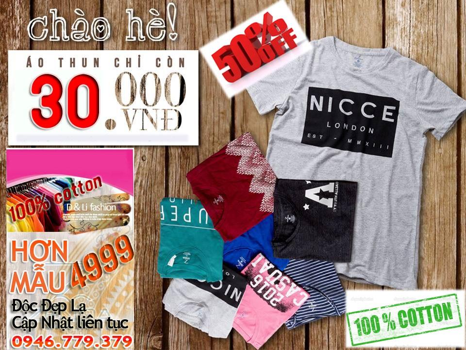 Siêu khuyến mãi hàng nghìn áo thun nữ kiểu 100% Cotton giá chỉ 30k tại TPHCM, Áo phông in họa tiết, áo thun teen bỏ sỉ Ảnh số 40771369