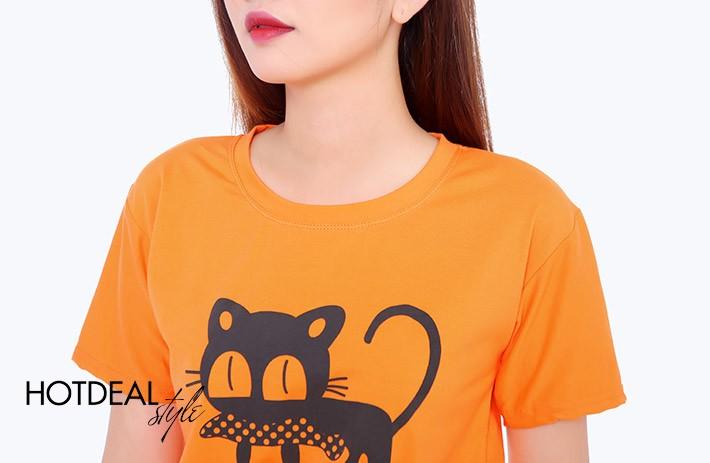 Siêu khuyến mãi hàng nghìn áo thun nữ kiểu 100% Cotton giá chỉ 30k tại TPHCM, Áo phông in họa tiết, áo thun teen bỏ sỉ Ảnh số 40771393