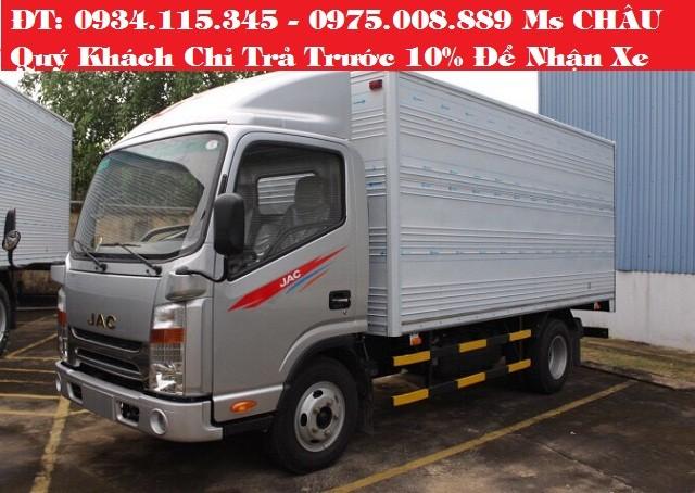 Xe tải Jac 2.4 Tấn Mua xe tải jac 2T4 đóng sẵn thùng Xe tải jac 2 tấn 4. Ảnh số 41012731