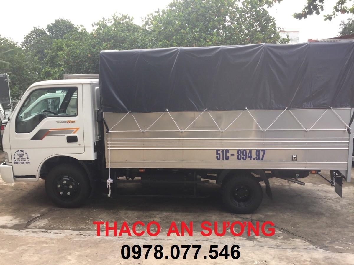 Xe tải kia 2t4, Thaco K165s 2.4 tấn BÁN Xe KIA mới 100% vào thành phố,Tải trọng 1 tấn 25, 1 tấn 9.k2700s. Ảnh số 41073575