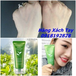 Ảnh số 51: Kem makeup face+body Coibana Green Tea Magic Whitening Cream - Giá: 175.000