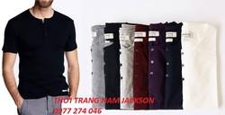 Áo phông nam henley hàng chuẩn đẹp từng chi tiết,các màu mới về ngập tràn,bán sỉ,bán lẻ giá tốt nhất