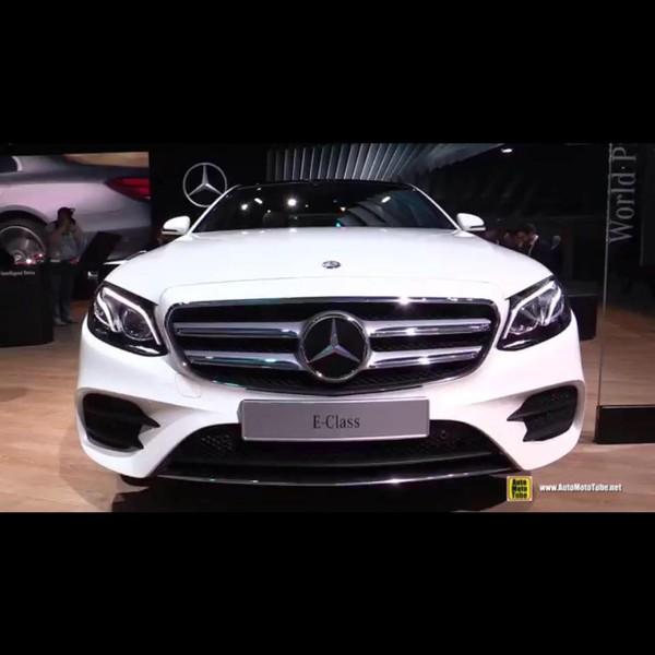 Xe Mercedes Benz E class 300 mới nhất 2017 , Ảnh đại diện