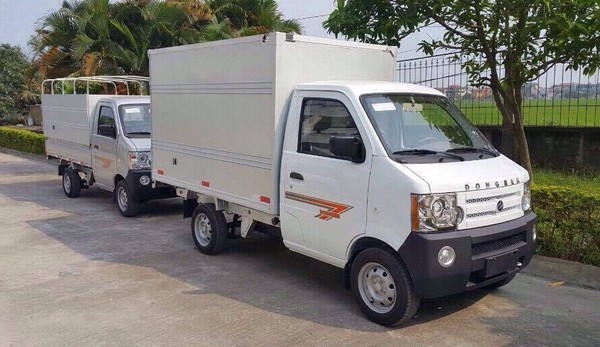 Mua xe tải DongBen 800KG - 810KG chỉ với 10 triệu thùng bạt, kín, lững