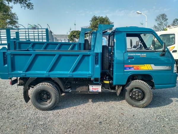 Bán xe ben 2.49 tấn nâng tải 2016 Thaco Forland FLD250C Mới 100% hỗ trợ trả góp. , Ảnh đại diện