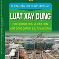 Luật xây dựng 2016 2017